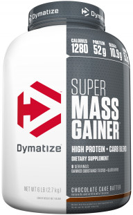 Гейнер Dymatize Nutrition Super Mass Gainer 6 lb (2722 г)